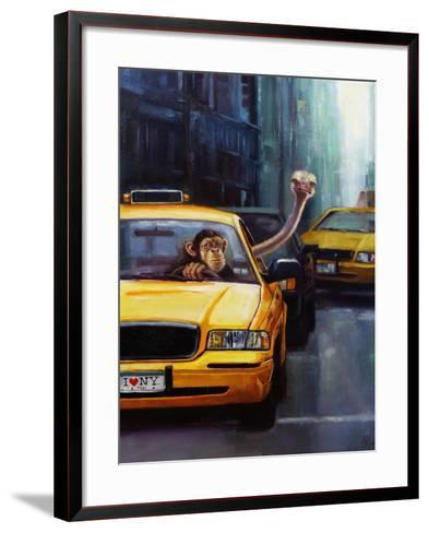 Rush Hour-Lucia Heffernan-Framed Art Print
