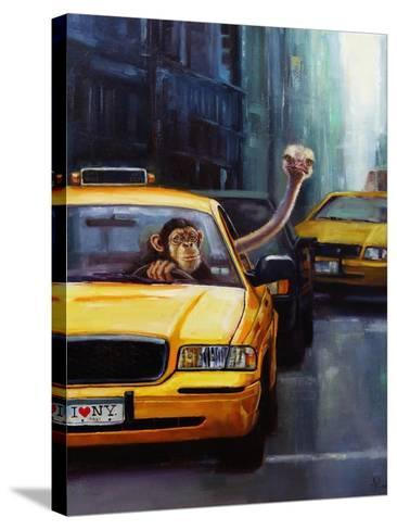 Rush Hour-Lucia Heffernan-Stretched Canvas Print