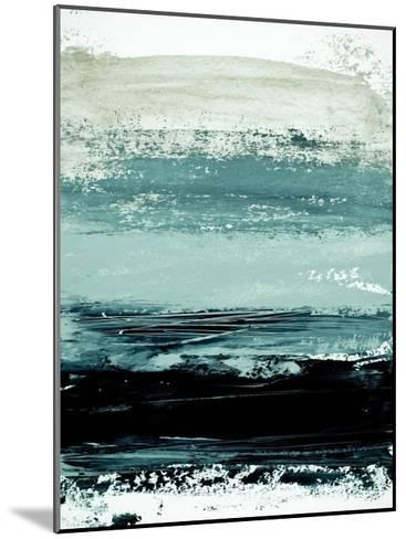 Abstract Minimalist Landscape 4-Iris Lehnhardt-Mounted Art Print