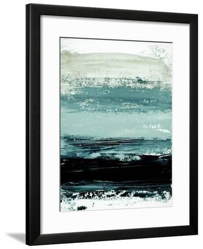 Abstract Minimalist Landscape 4-Iris Lehnhardt-Framed Art Print