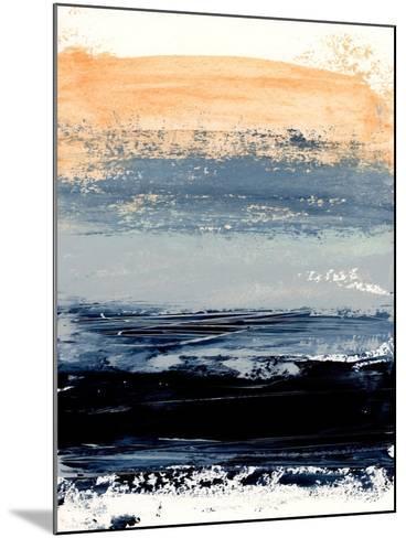Abstract Minimalist Landscape 5-Iris Lehnhardt-Mounted Art Print