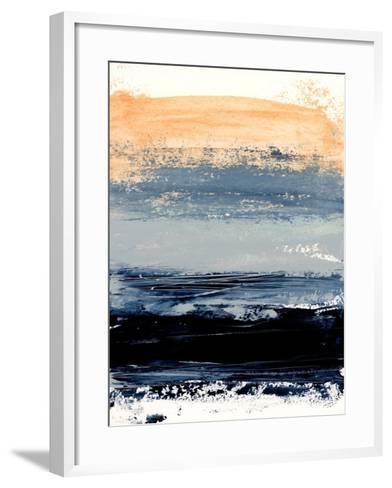 Abstract Minimalist Landscape 5-Iris Lehnhardt-Framed Art Print