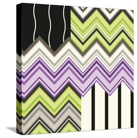 Jazzed 1-Janelle Kroner-Stretched Canvas Print
