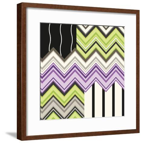 Jazzed 1-Janelle Kroner-Framed Art Print