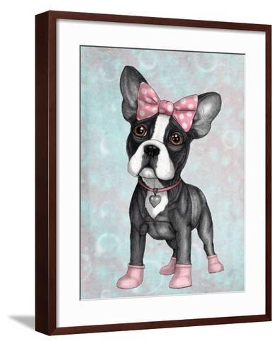 Sweet Frenchie-Barruf-Framed Art Print