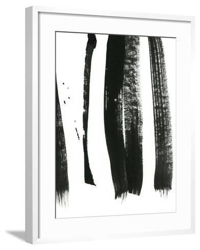 Black on White 3-Iris Lehnhardt-Framed Art Print
