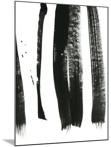 Black on White 3-Iris Lehnhardt-Mounted Art Print