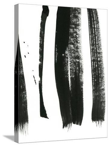 Black on White 3-Iris Lehnhardt-Stretched Canvas Print