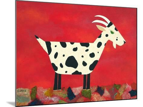 Vincent Van Goat-Casey Craig-Mounted Art Print
