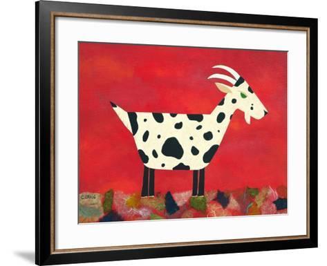 Vincent Van Goat-Casey Craig-Framed Art Print