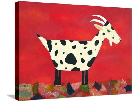 Vincent Van Goat-Casey Craig-Stretched Canvas Print