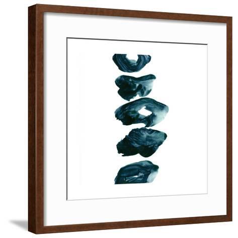 Irregular 2-Iris Lehnhardt-Framed Art Print