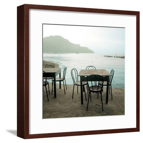 Atrani Caffe #6-Alan Blaustein-Framed Art Print