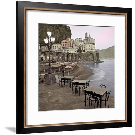 Atrani Caffe #5-Alan Blaustein-Framed Art Print