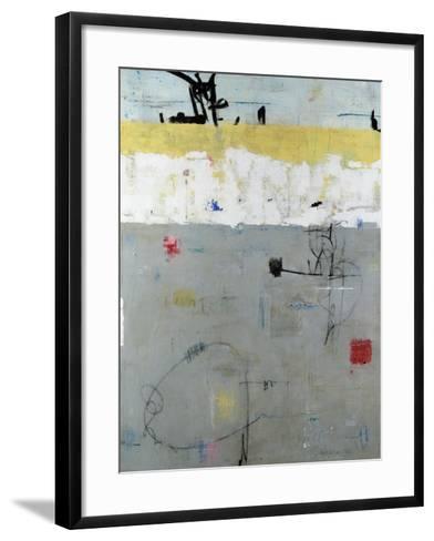Borderline-Julie Weaverling-Framed Art Print