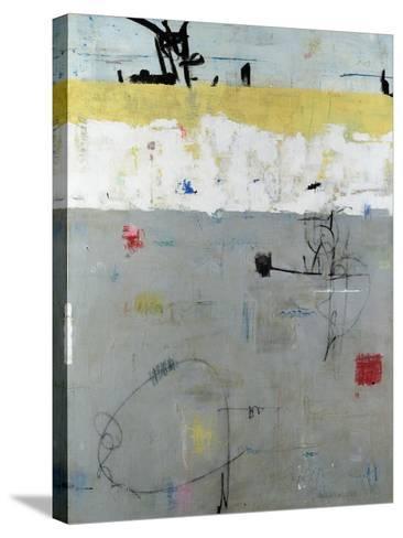 Borderline-Julie Weaverling-Stretched Canvas Print