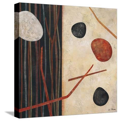 Sticks and Stones I-Glenys Porter-Stretched Canvas Print
