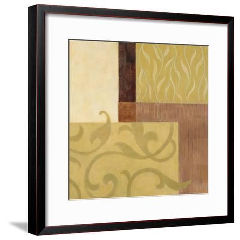 Garden Terrace II-Glenys Porter-Framed Art Print