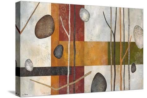 Sticks and Stones IX-Glenys Porter-Stretched Canvas Print