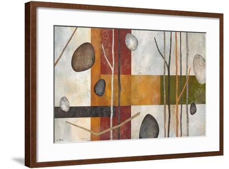 Sticks and Stones IX-Glenys Porter-Framed Art Print