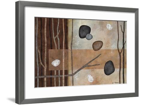 Sticks and Stones IV-Glenys Porter-Framed Art Print