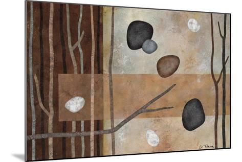 Sticks and Stones IV-Glenys Porter-Mounted Art Print