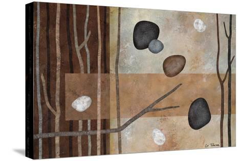 Sticks and Stones IV-Glenys Porter-Stretched Canvas Print