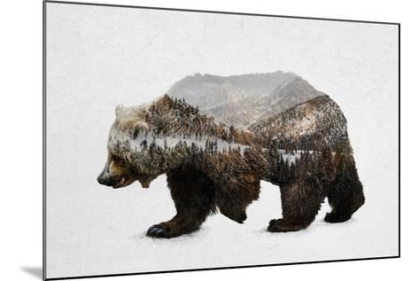 The Kodiak Brown Bear-Davies Babies-Mounted Art Print