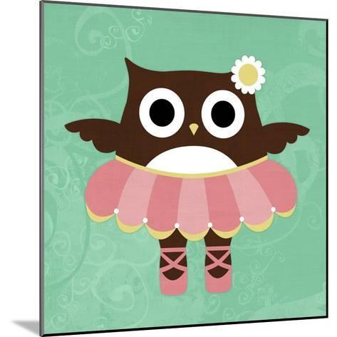 Ballerina Owl-Nancy Lee-Mounted Art Print