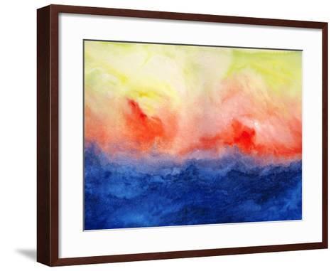 Brushfire II-Jacqueline Maldonado-Framed Art Print