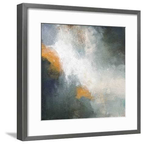 Through The Mist-Karen Hale-Framed Art Print