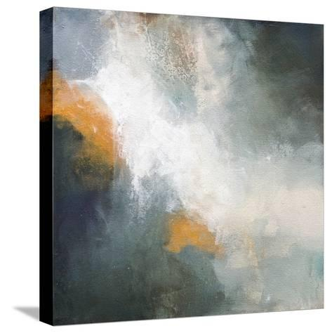 Through The Mist-Karen Hale-Stretched Canvas Print