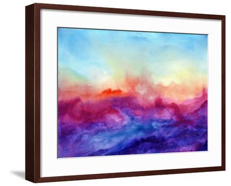 Arpeggi II-Jacqueline Maldonado-Framed Art Print