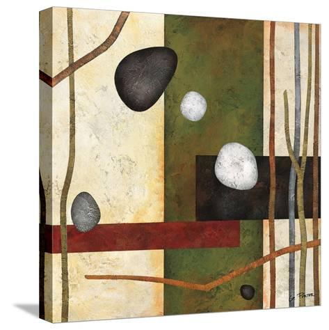 Sticks and Stones VIII-Glenys Porter-Stretched Canvas Print