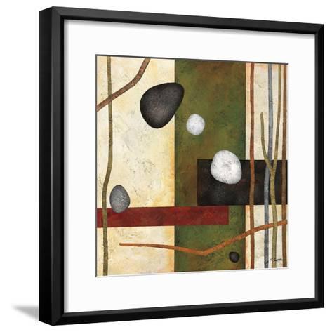 Sticks and Stones VIII-Glenys Porter-Framed Art Print