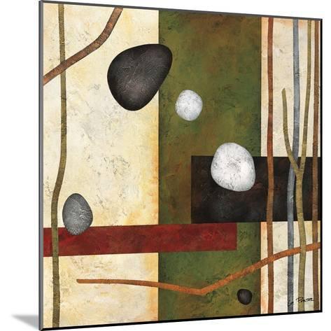 Sticks and Stones VIII-Glenys Porter-Mounted Art Print