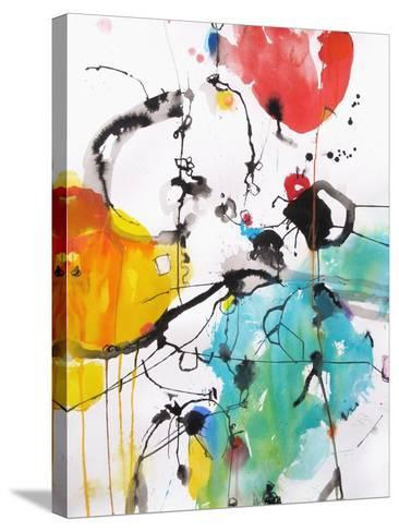 Drifting Continents-Emily Weil-Stretched Canvas Print