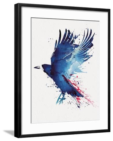 Bloody Crow-Robert Farkas-Framed Art Print