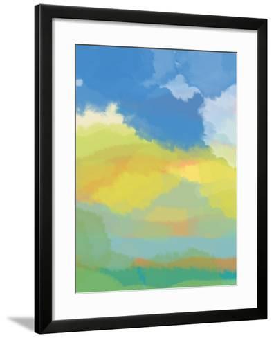 Break in the Weather-Jan Weiss-Framed Art Print