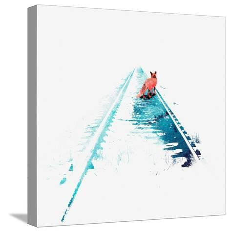 From Nowhere to Nowhere-Robert Farkas-Stretched Canvas Print