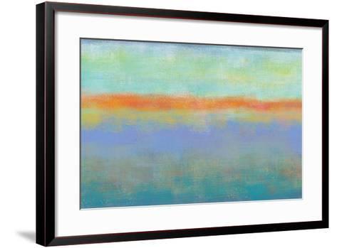 Country Sky 2-Jan Weiss-Framed Art Print