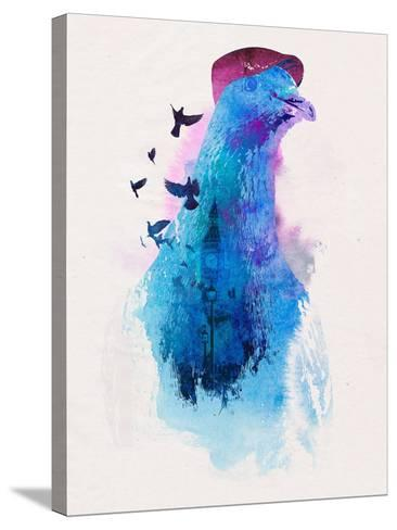 Everybody Flies to London-Robert Farkas-Stretched Canvas Print