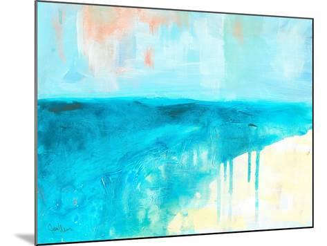 Coastal Blues 2-Jan Weiss-Mounted Art Print