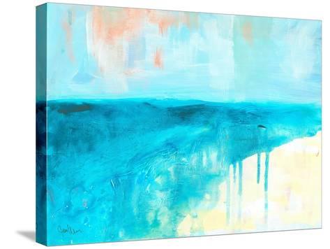 Coastal Blues 2-Jan Weiss-Stretched Canvas Print
