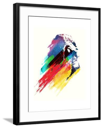 Our Hero-Robert Farkas-Framed Art Print