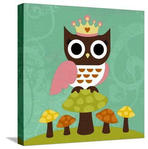 Princess Owl-Nancy Lee-Stretched Canvas Print