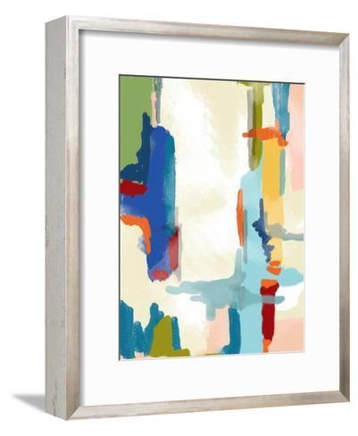 Deconstructed Landscape 1-Jan Weiss-Framed Art Print