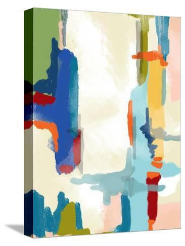 Deconstructed Landscape 1-Jan Weiss-Stretched Canvas Print