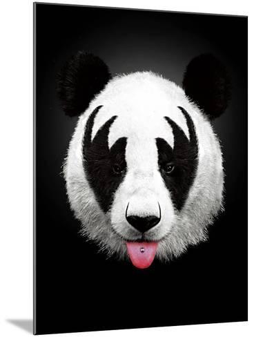 Panda Rocks-Robert Farkas-Mounted Art Print