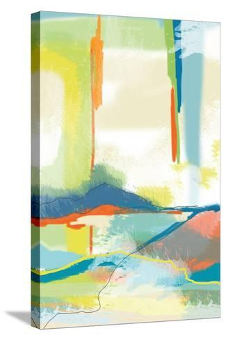 Deconstructed Landscape 4-Jan Weiss-Stretched Canvas Print
